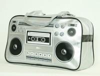 Tape recorder silver Xlarge bag Bag