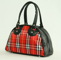 Scotch red-white small bowling bag
