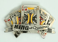 King of queens extra big buckle