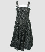 Front - Stars black bobelina dress