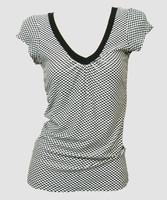 Front - Check black-white fashion