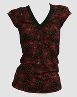 Front - Spider black-red fashion