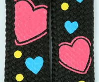 Heart color mix shoelace