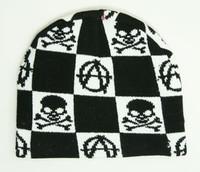 Anarchie skull beanie