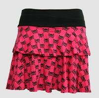 Cute skull pink cute & dangerous mini skirt