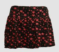 1L 3 Stars black-red cute & dangerous mini skirt