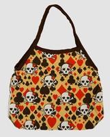 Skull new yellow hand bag Bag