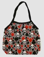 Skull new grey hand bag Bag
