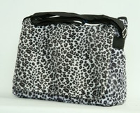 Leopard white LH large fluffy bag