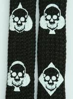 Ace Of Spades Black Skull B&W Skull