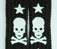 Skull V star black-white skull B&W skull