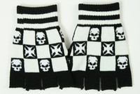 Skull hero white gloves accessory
