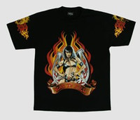 Bad to kill Pin up t-shirt