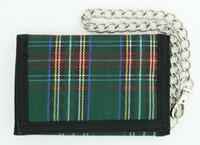 Scotch green mixed with chain wallet
