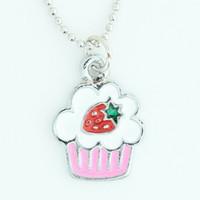 Cake sweet necklace
