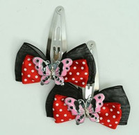 Black-red / butterfly pink red animal