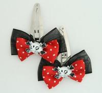 Black-red / cat bone white-black red animal