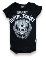 My first metal shirt six bunnies baby body