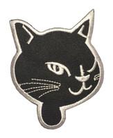 Cat head black-white animal extra big