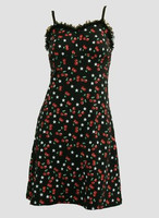Front - DL cherry star lace pin up