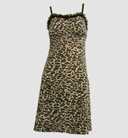 Front - DL leopard brown lace pin up