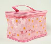 Flower L-pink toiletry bag