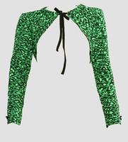 Front - SL leopard green top sleeve tops