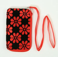 Flower Red Mobile bag