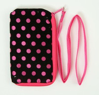 Dot D-pink mobile bag