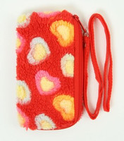 Heart red mobile bag