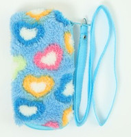 Heart blue mobile bag