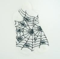 Spiderweb white socks accessory