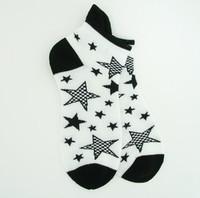 Stars white socks accessory