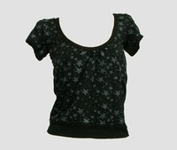 Front - OIB stars black-grey top diva top