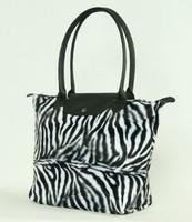 Zebra white design bag