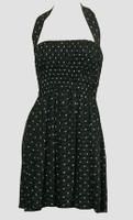 Front EB star dot elastic dress