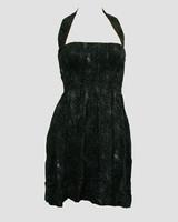 Front EB spider elastic dress