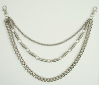 3 tube gourmet WC 3 wallet chain