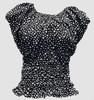 Elastic star black top elastic top