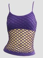 Front - Big purple top net top