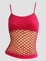 Front - Big pink top net top