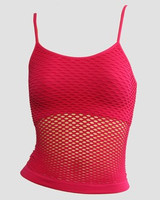 Front - Small red top net top
