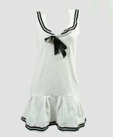 Front - Dress u white sailor dress
