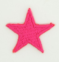 S star pink small patch