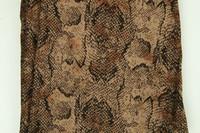 S snake brown spandex legging
