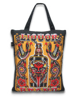 Demon liquor tote bag liquorbrand