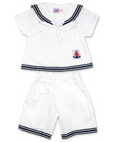 Sailor kid set in two pieces for boy