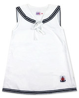 Sailor dress in one piece for girls