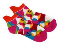 Smiley happy colors socks