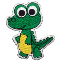 Cute dinosaur - yellow belly alligator